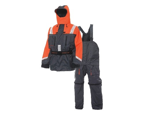 Костюм поплавок Kinetic Flotation Suit Orange/Grey