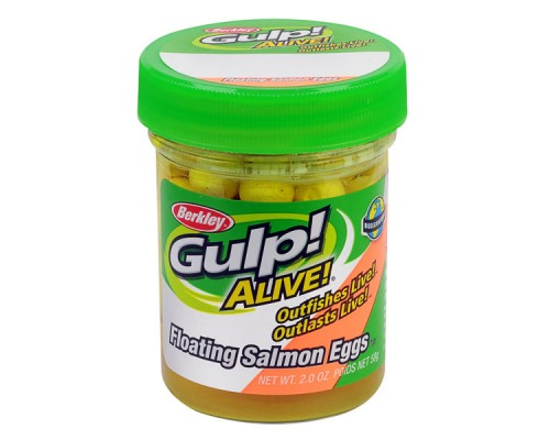 Силиконовая приманка Berkley Gulp! Alive Floating Salmon Eggs