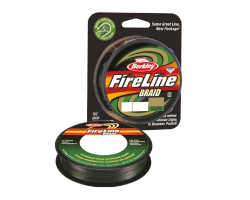 Шнур Berkley FireLine Braid Green 110m