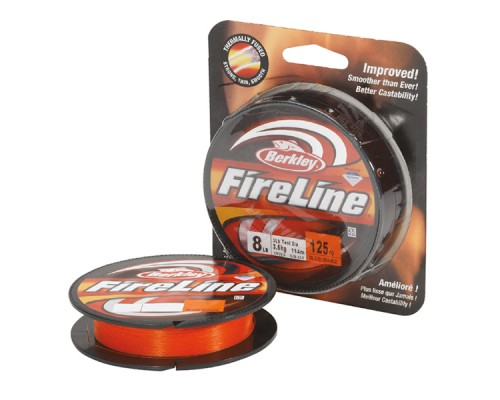 Шнур Berkley FireLine Orange 110m